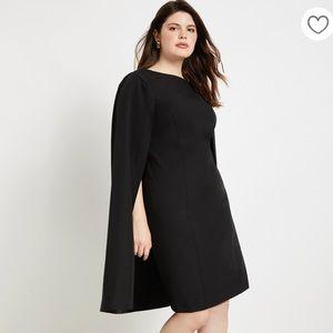 Stunning cape dress